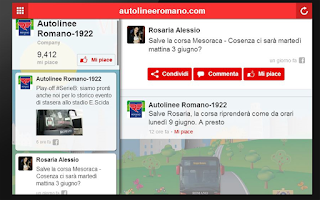 Screenshot of Autolinee Romano 1922