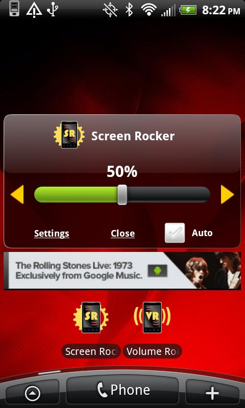 Screen Rocker- screenshot