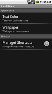 SimpleHome- screenshot thumbnail