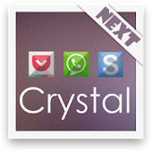 Crystal Next Launcher Theme