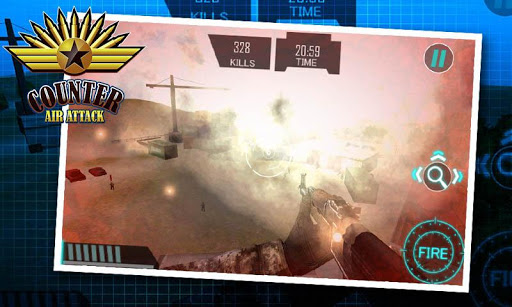 Gunship Counter Attack 3D