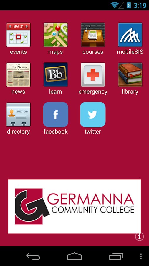 Germanna Mobile- screenshot