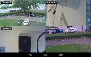 Screenshot of Viewer for EasyN IP cameras
