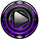 Poweramp skin Purple Glow v1.40