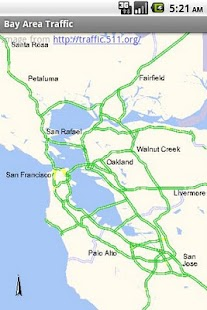 Bay Area Traffic- screenshot thumbnail