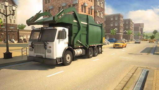 3D Garbage Truck Parking Game