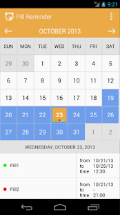 Med Helper Pill Reminder Android - Google Play