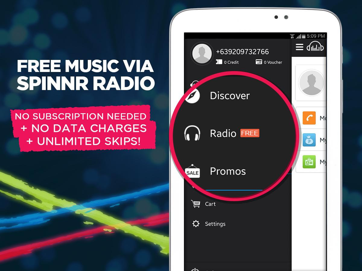 Spinnr Music- screenshot