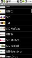 Screenshot of GuiaTV