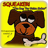 SQUEAKER! Dog Toy (Ad Free)
