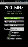 Screenshot of CPU Manager & Saver Pro Tablet