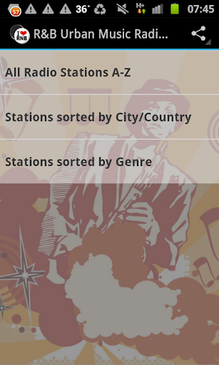 R B Urban Music Radio Stations