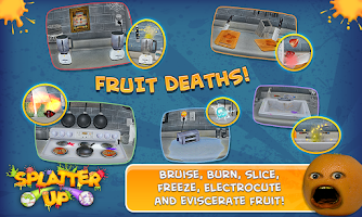 Screenshot of Annoying Orange: Splatter Free