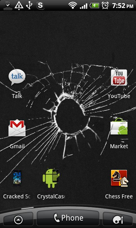 Cracked Screen (animated) - screenshot