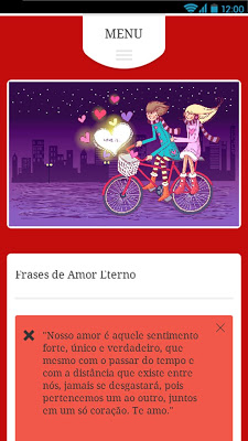 Palavras de Amor !!! - screenshot