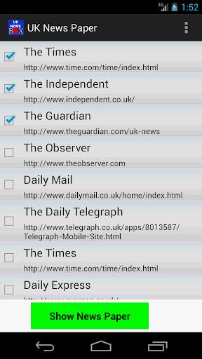 UK News Paper