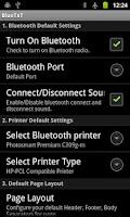Screenshot of BlueTxT - Text Printer