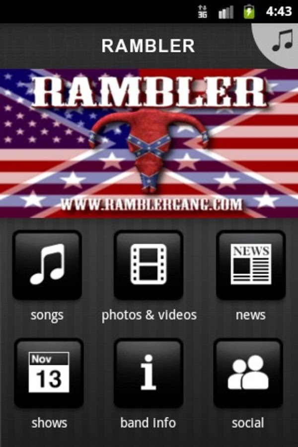 RAMBLER - screenshot