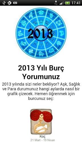 2013 Yılı Burç Yorumunuz