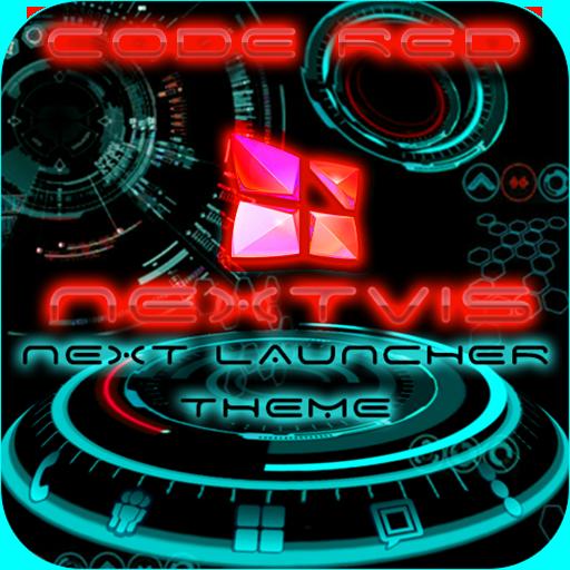 フリー次にランチャーCode Redの3D 生產應用 LOGO-玩APPs