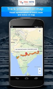 Indian Railways PNR Time Table - screenshot thumbnail