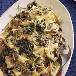 Mushroom-and-Marsala Pappardelle