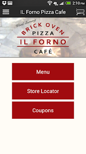 IL Forno Pizza Cafe- screenshot thumbnail