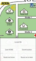 Screenshot of Oktoberfest Map (GPS)