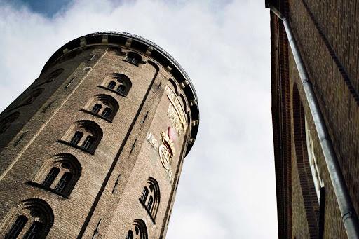"""Round-Tower-Copenhagen - TheRundetårn, or """"round tower,"""" in central Copenhagen."""