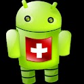 The (old) Swiss Android App logo