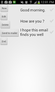 Fixed form mail launcher  - screenshot thumbnail