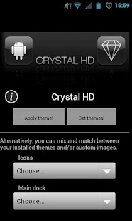 Crystal HD - ADW / LPP theme - screenshot thumbnail