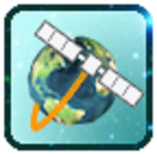 Satellite 3D : Detecting Satellites Icon
