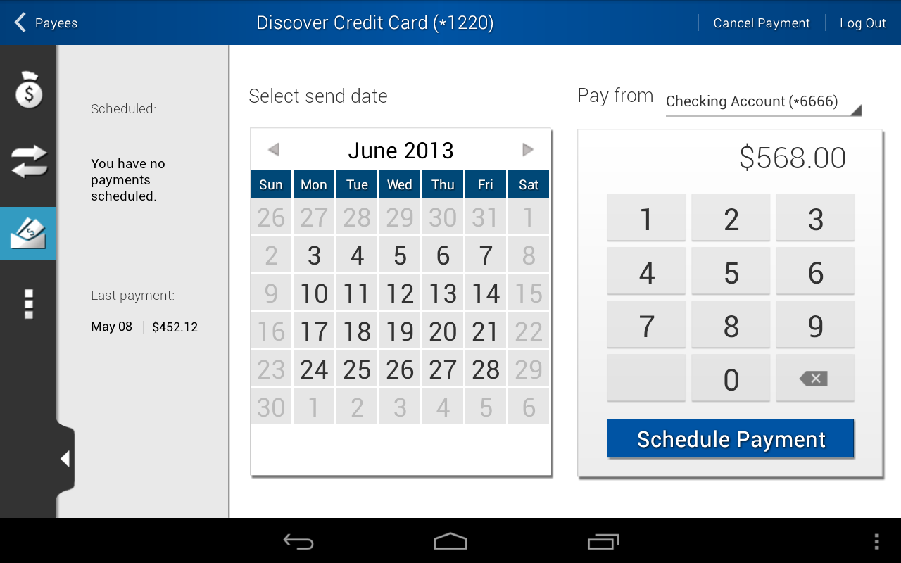 SAFE Credit Union - screenshot