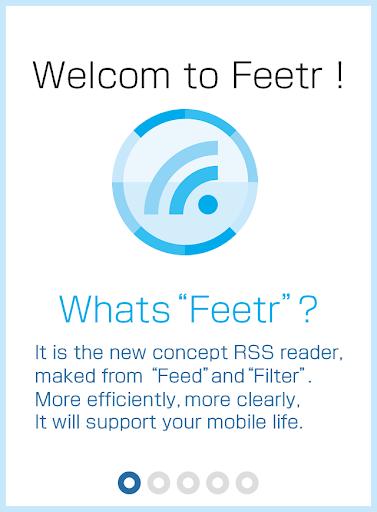 Feetr free [filter RSS reader]