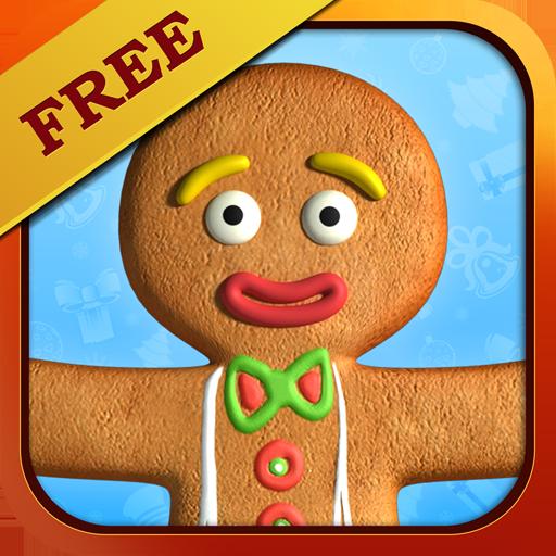 おしゃべりジンジャーブレッドマン フリー 娛樂 App LOGO-APP試玩