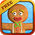 Talking Gingerbread Man Gratis icon