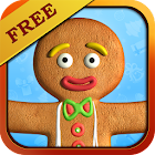 Talking Gingerbread Man Free icon