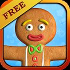 Talking Gingerbread Man Free icon