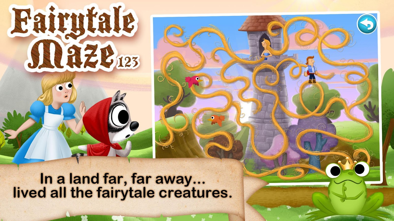 Uncategorized Fairy Tale For Kids fairytale maze 123 for kids android apps on google play screenshot