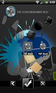 TSF Shell - Graphene Theme - screenshot thumbnail