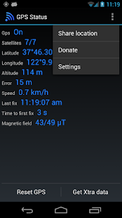 GPS Status Test & Fix- screenshot thumbnail