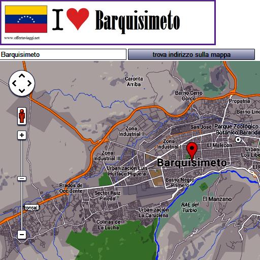 Barquisimeto map