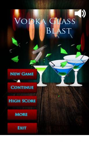 Vodka Glass Shoot