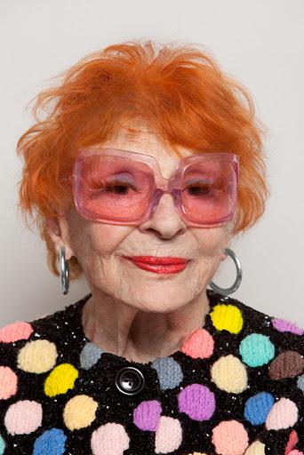 Redhead old lady