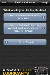 PineCar Calculator - screenshot thumbnail