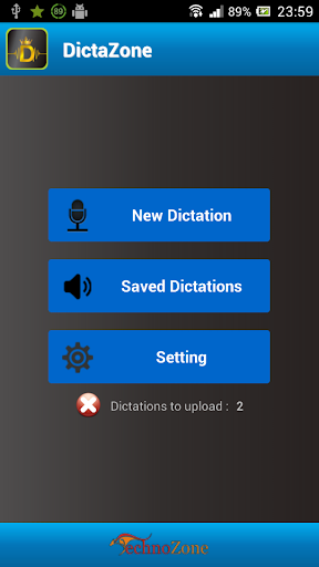 DictaZone Dictation Recorder