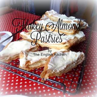 Flakey Almond Pastries.