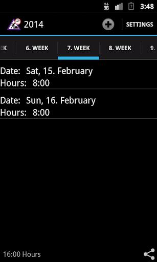 Stundenzettel