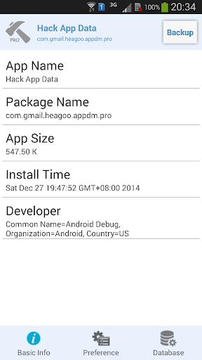 Hack App Data for PC